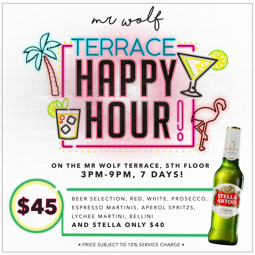 http://casteloconcepts.com/whats-on/mr-wolf-happy-hour